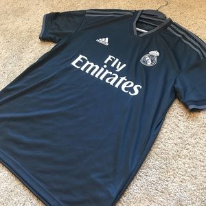 adidas Real Madrid 2018/19 Away Soccer Jersey